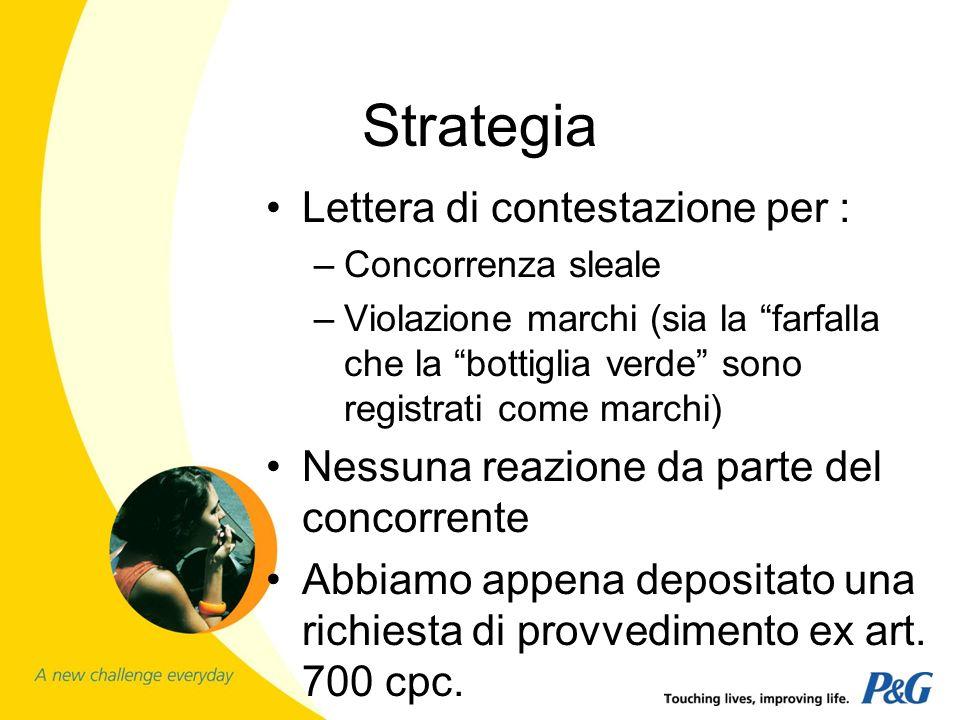Strategia Lettera di contestazione per :