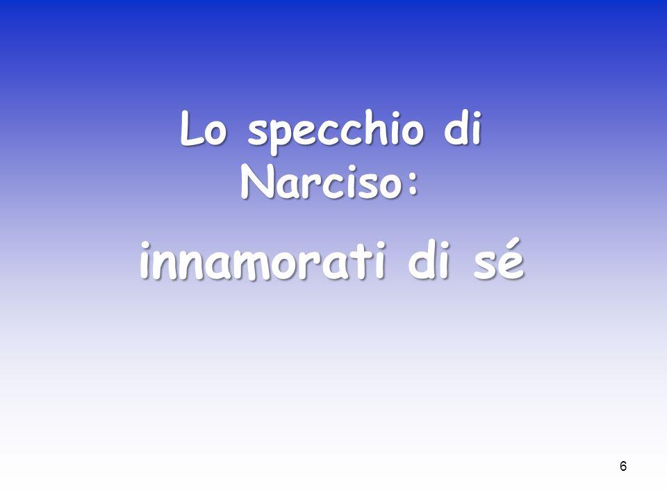 Lo specchio di Narciso: