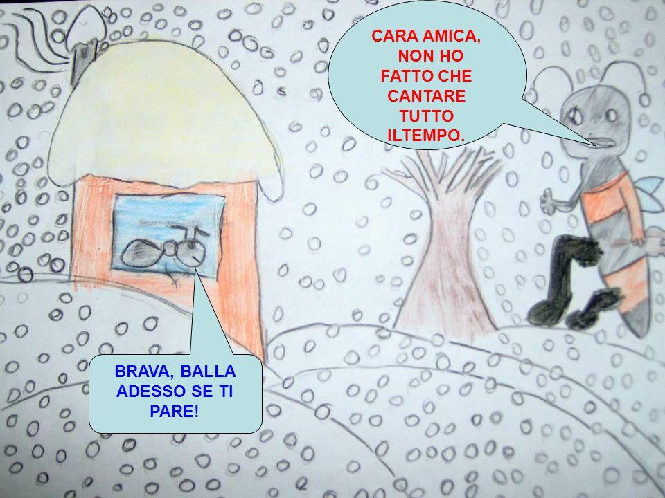 BRAVA, BALLA ADESSO SE TI PARE!
