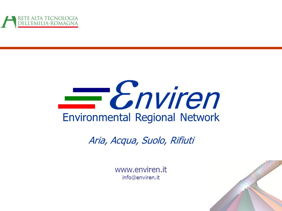 Environmental Regional Network