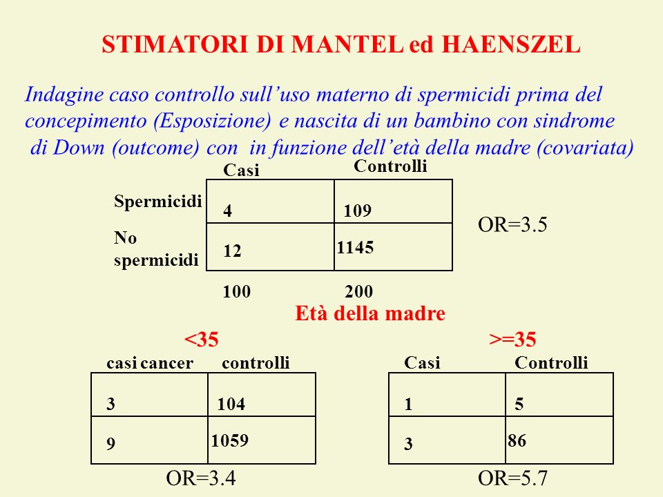 STIMATORI DI MANTEL ed HAENSZEL