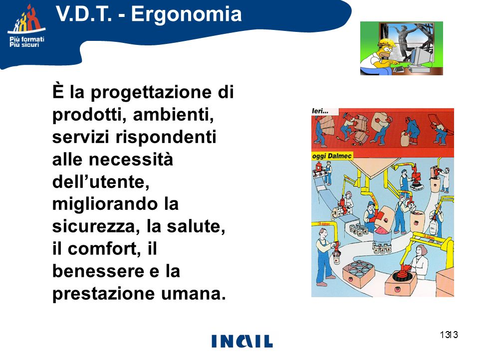 V.D.T. - Ergonomia