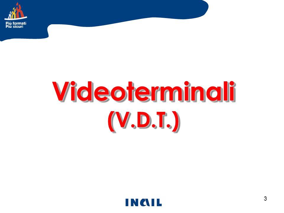 Videoterminali (V.D.T.)