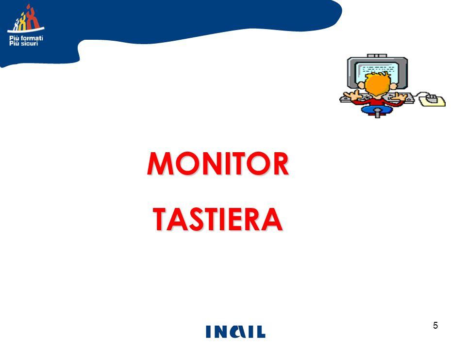 MONITOR TASTIERA