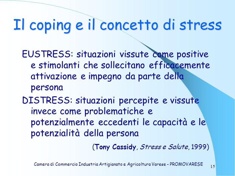 Il coping e il concetto di stress