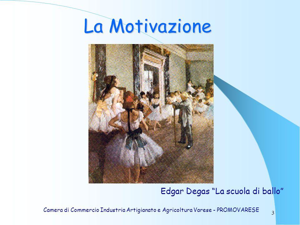 La Motivazione Edgar Degas La scuola di ballo