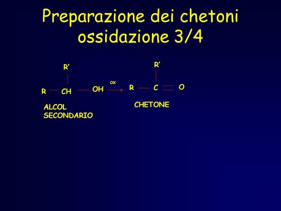 Preparazione dei chetoni ossidazione 3/4