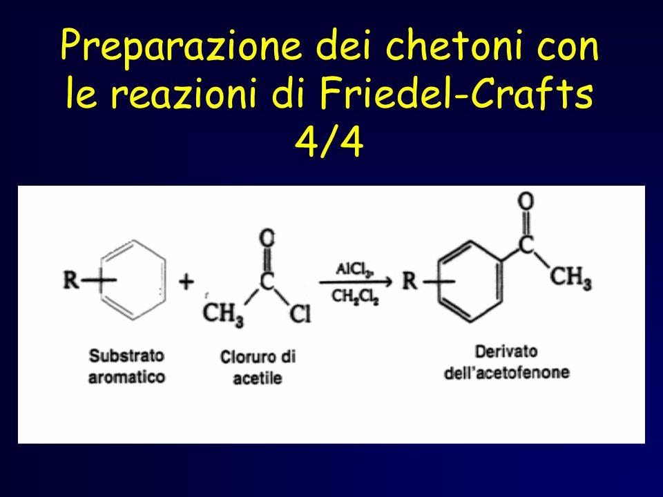 Preparazione dei chetoni con le reazioni di Friedel-Crafts 4/4