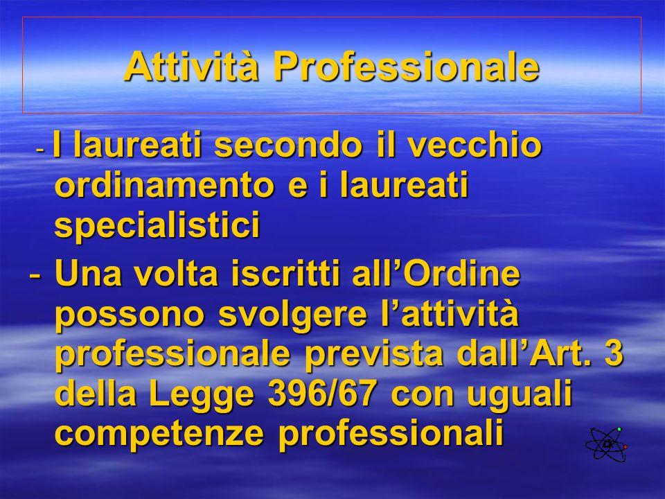 Attività Professionale