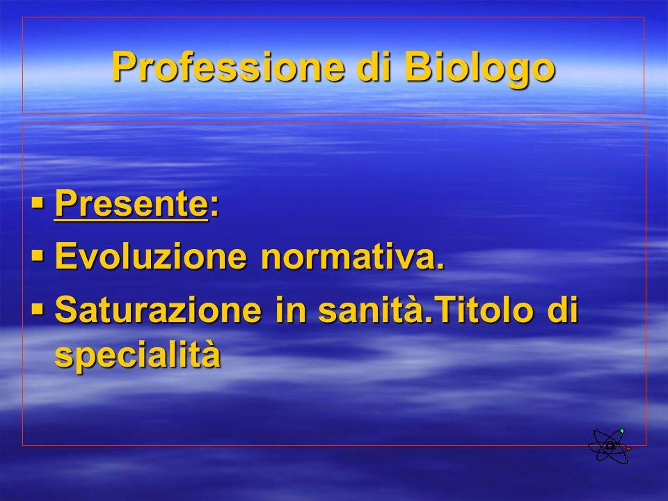 Professione di Biologo