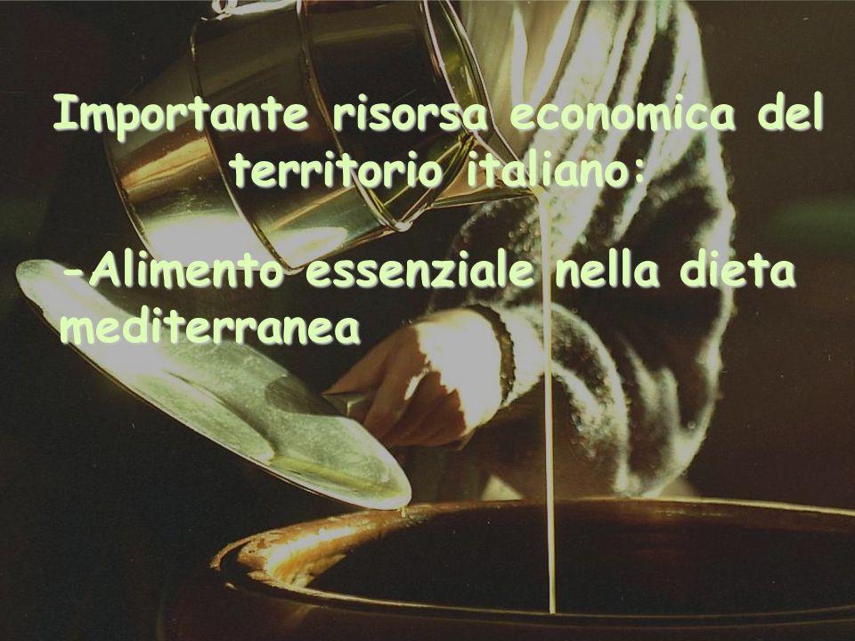 Importante risorsa economica del territorio italiano: