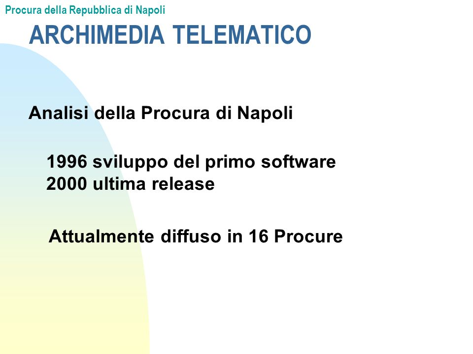 ARCHIMEDIA TELEMATICO