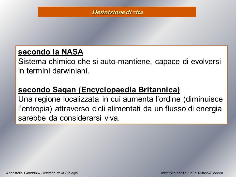 secondo Sagan (Encyclopaedia Britannica)