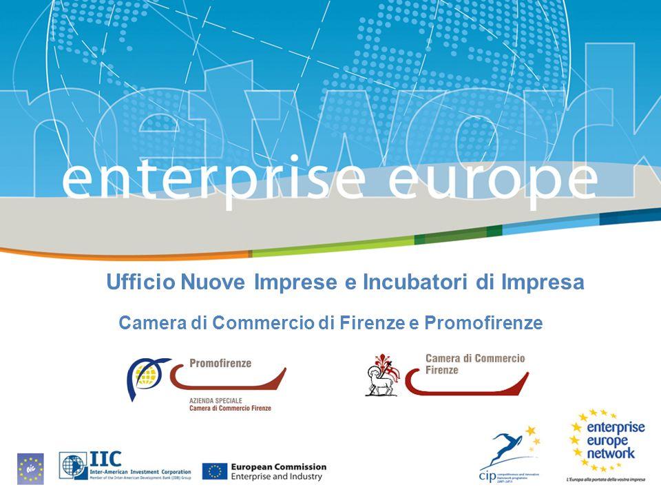 Ufficio Nuove Imprese e Incubatori di Impresa