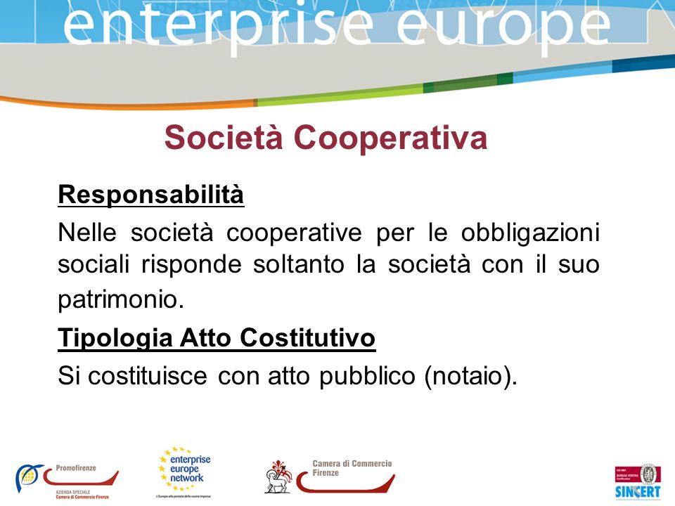 Società Cooperativa Responsabilità