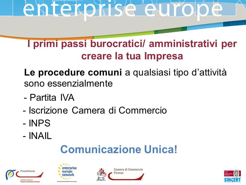 I primi passi burocratici/ amministrativi per creare la tua Impresa
