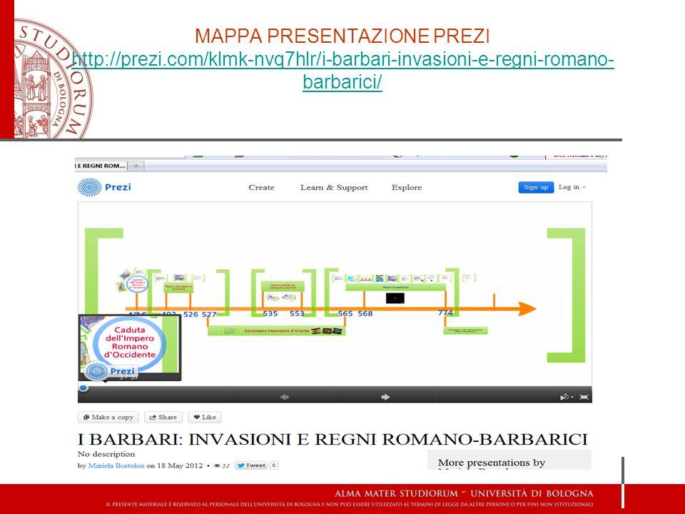 MAPPA PRESENTAZIONE PREZI http://prezi