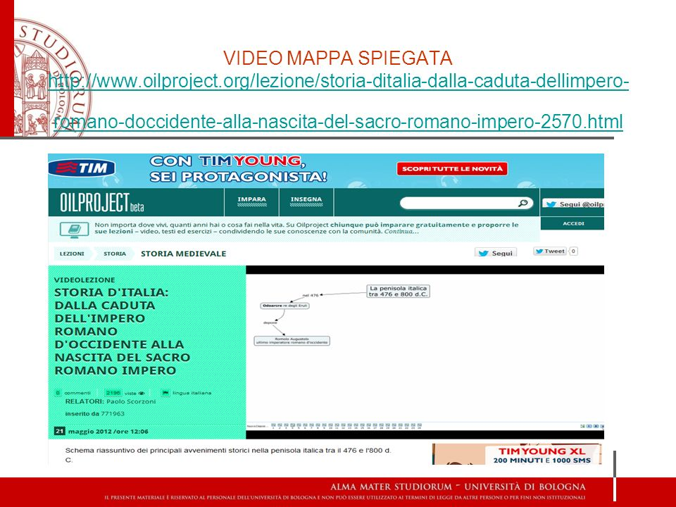 VIDEO MAPPA SPIEGATA http://www. oilproject