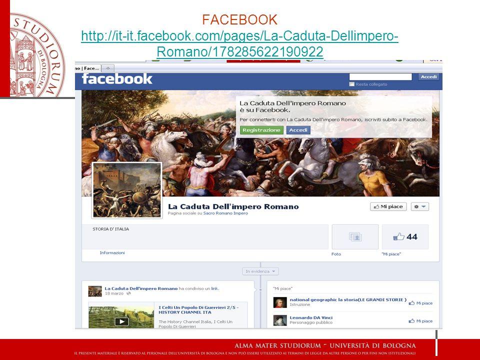FACEBOOK http://it-it. facebook