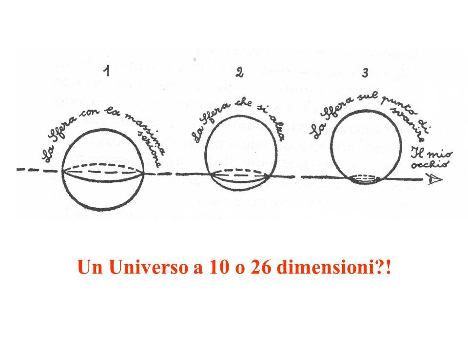 Un Universo a 10 o 26 dimensioni !