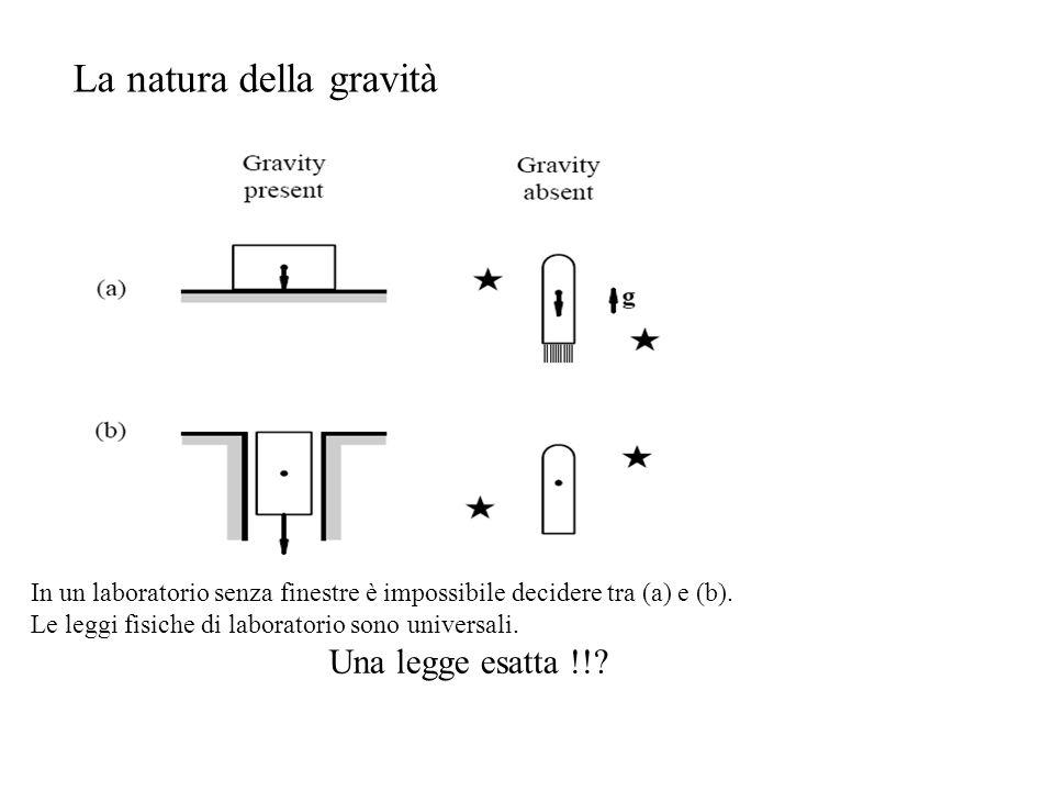 La natura della gravità