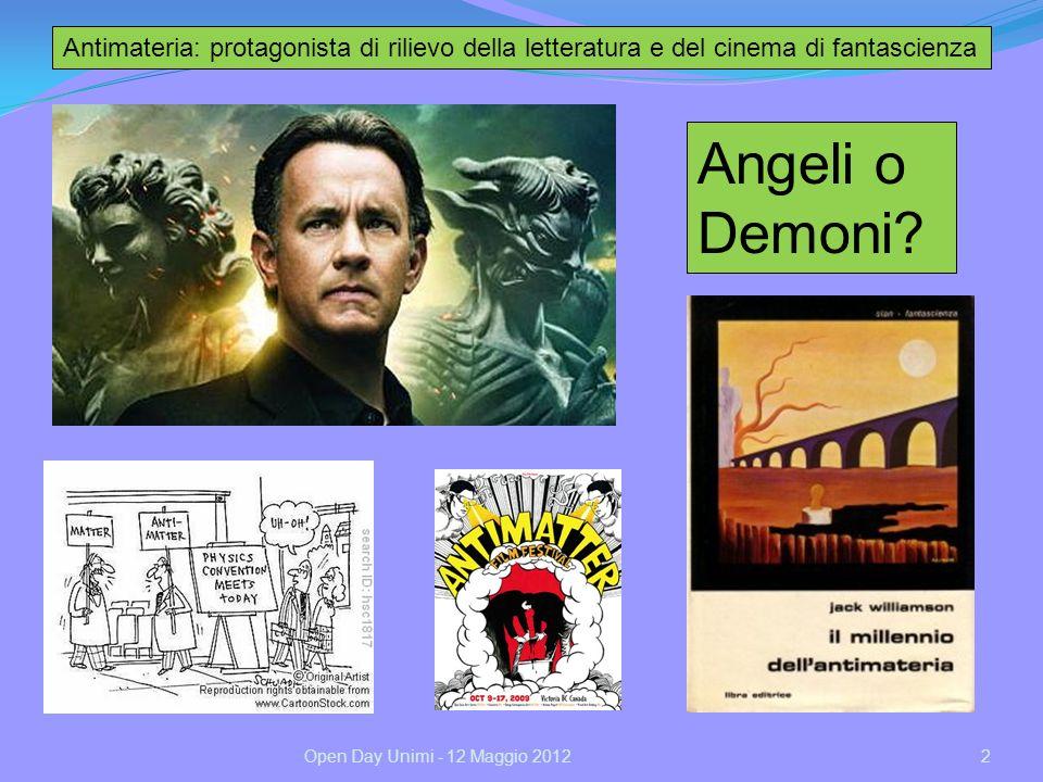 Antimateria: protagonista di rilievo della letteratura e del cinema di fantascienza
