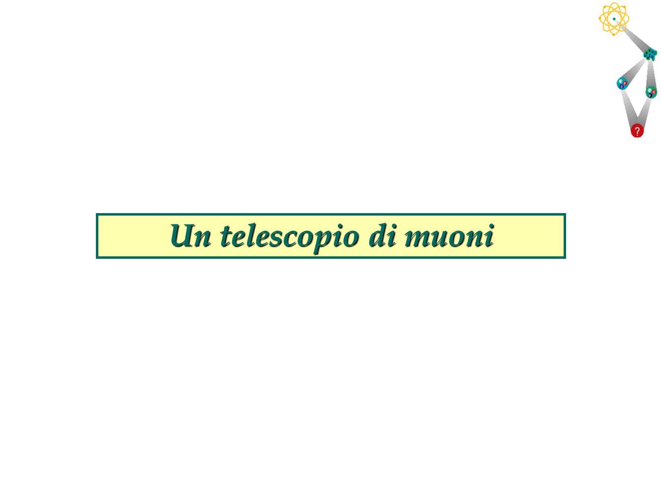 Un telescopio di muoni