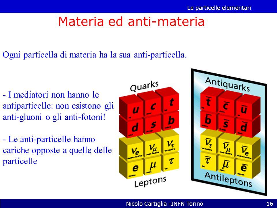 Materia ed anti-materia