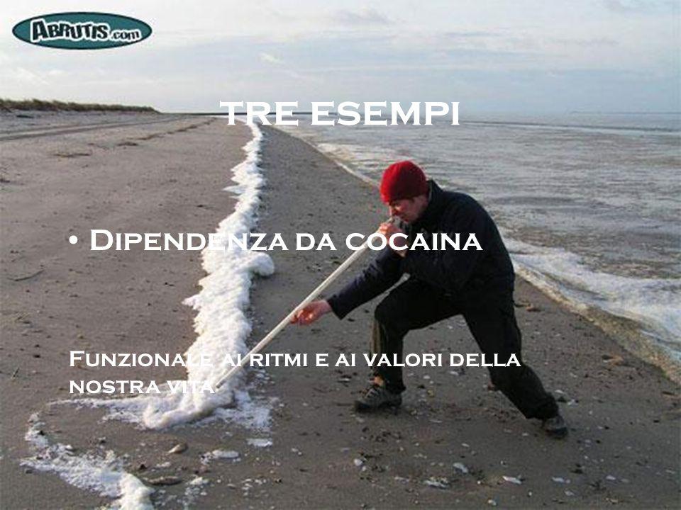 tre esempi Dipendenza da cocaina