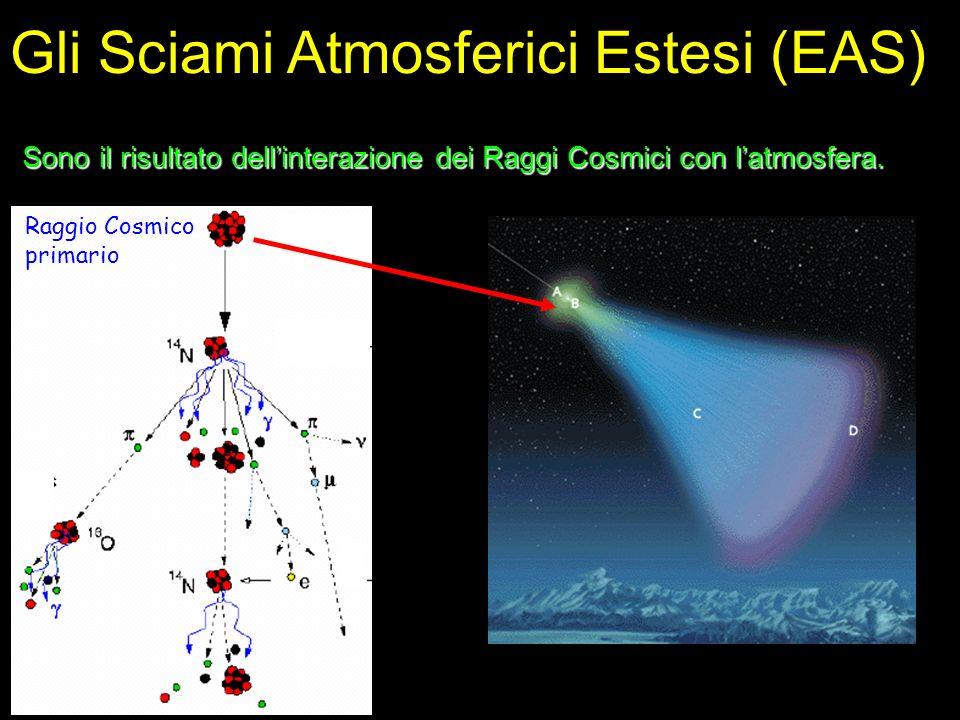 Gli Sciami Atmosferici Estesi (EAS)
