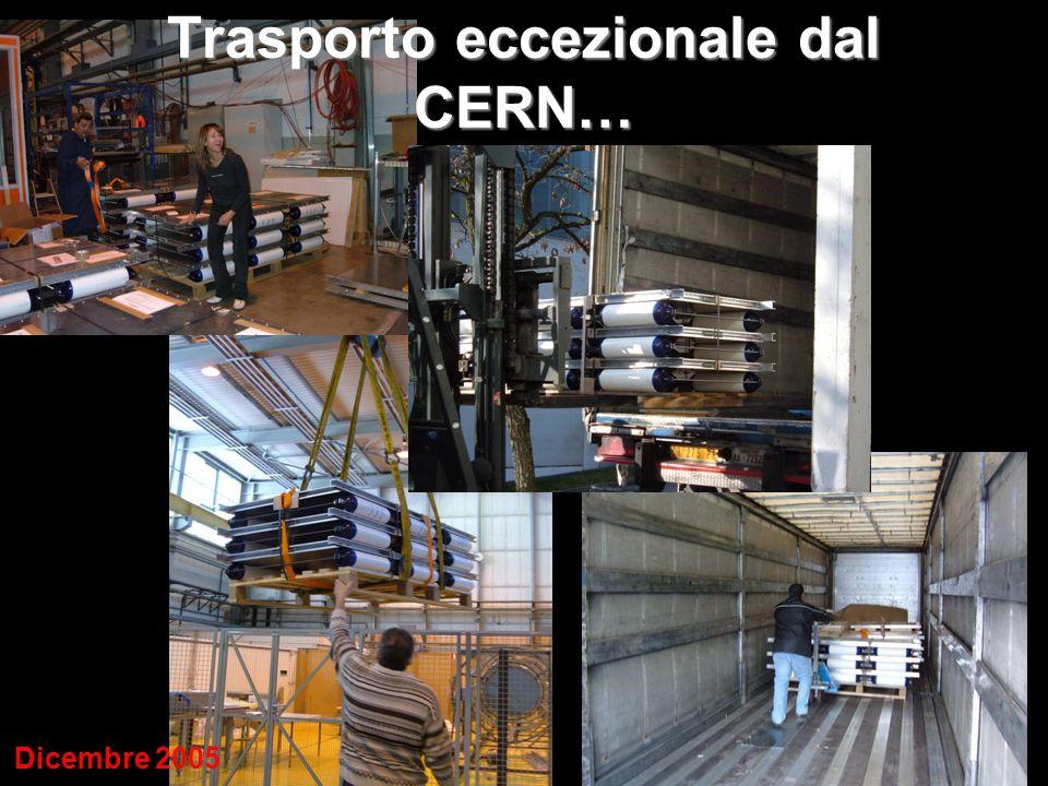 Trasporto eccezionale dal CERN…