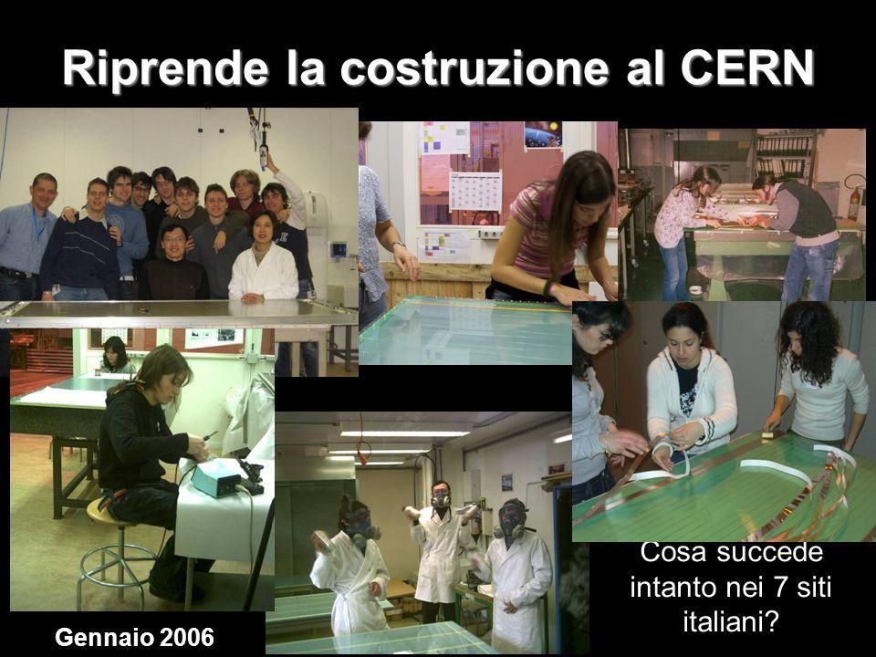 Riprende la costruzione al CERN