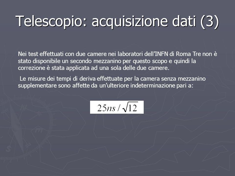 Telescopio: acquisizione dati (3)