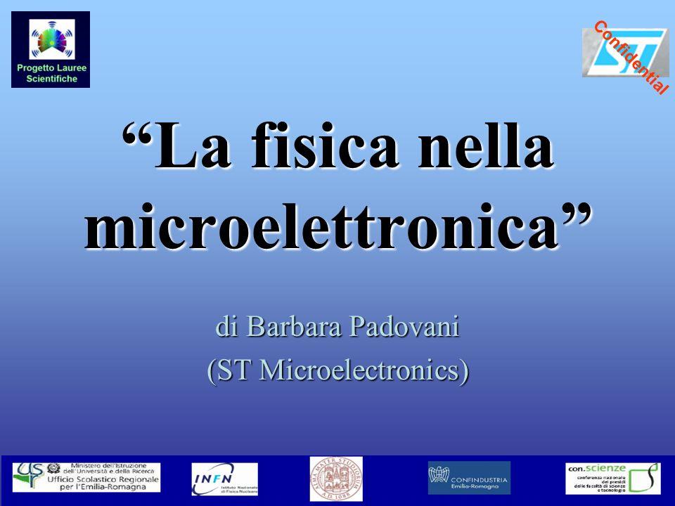 La fisica nella microelettronica