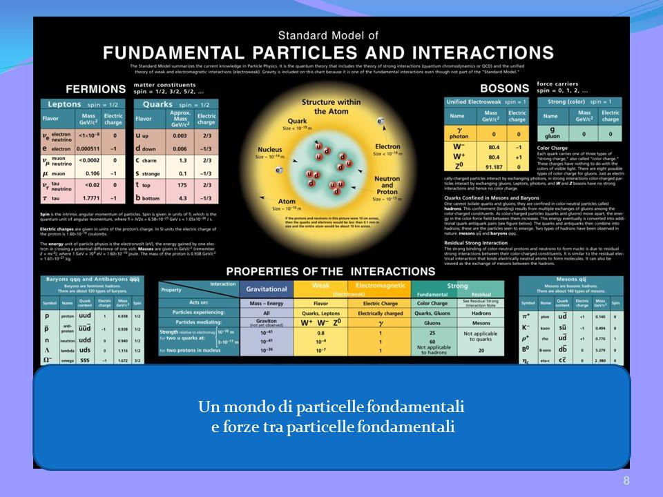 Un mondo di particelle fondamentali