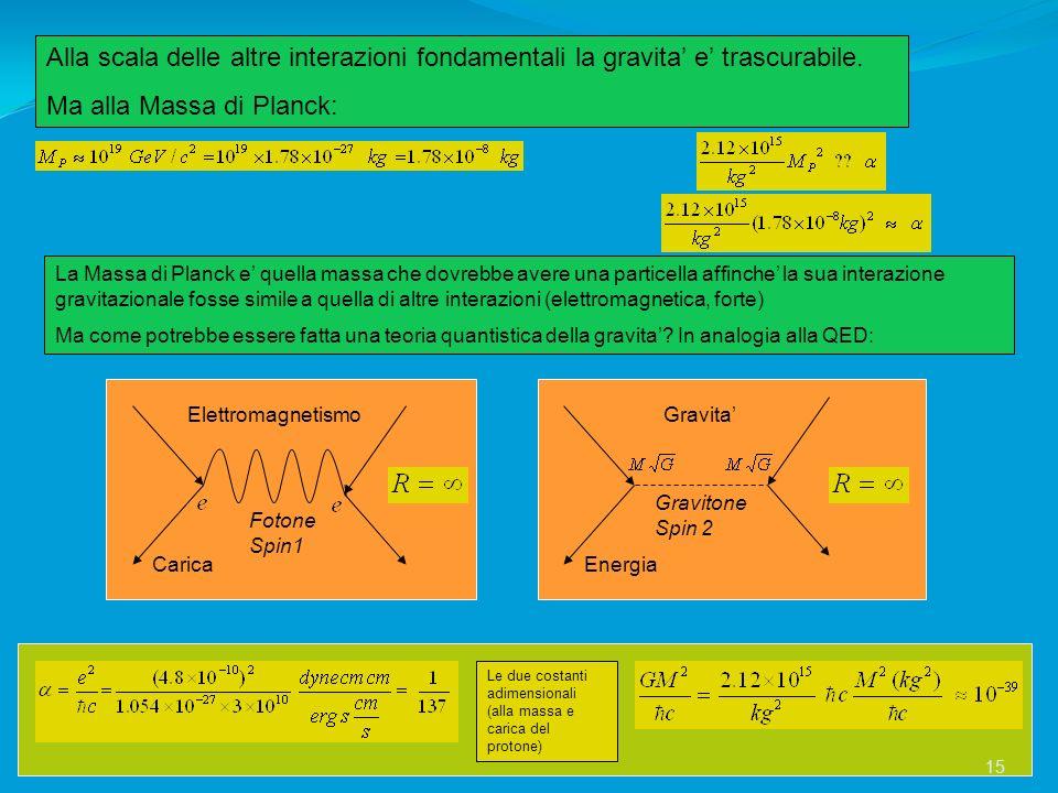 Ma alla Massa di Planck: