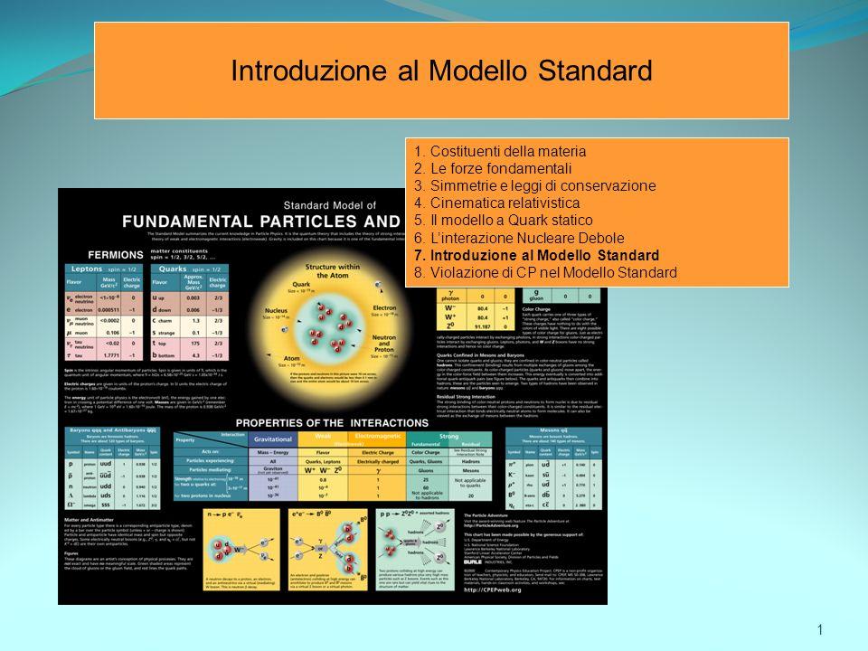 Introduzione al Modello Standard