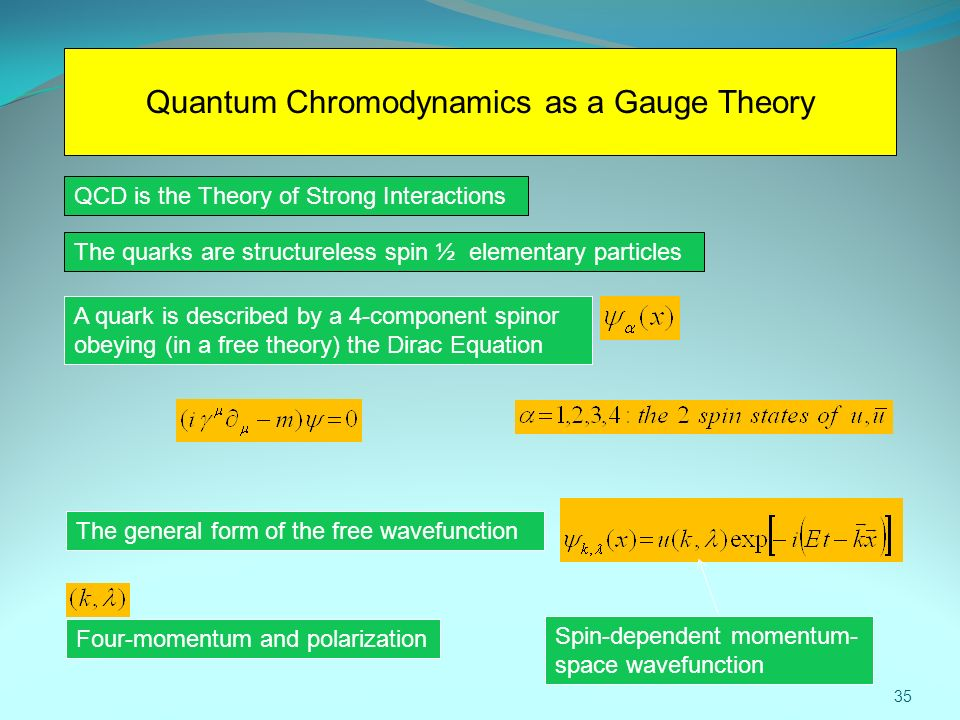 Quantum Chromodynamics as a Gauge Theory