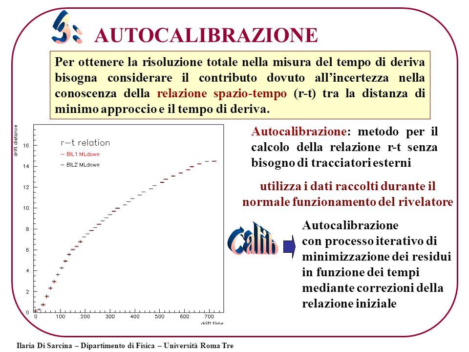 Calib 3: AUTOCALIBRAZIONE