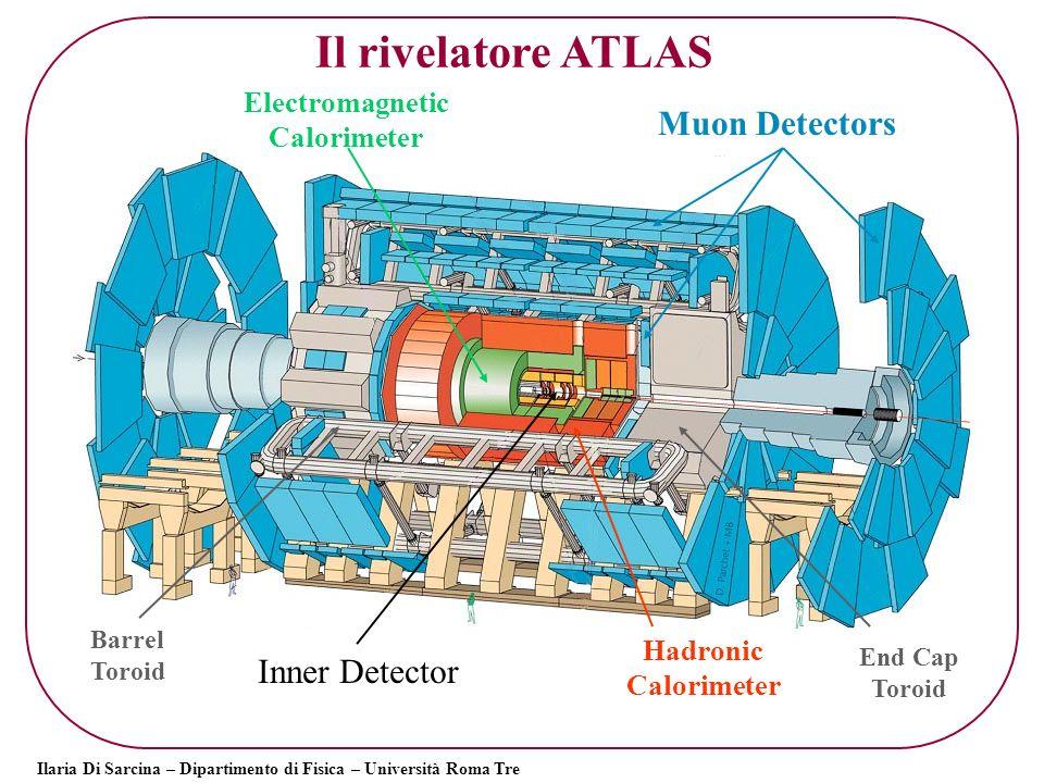 Il rivelatore ATLAS Muon Detectors Inner Detector Electromagnetic