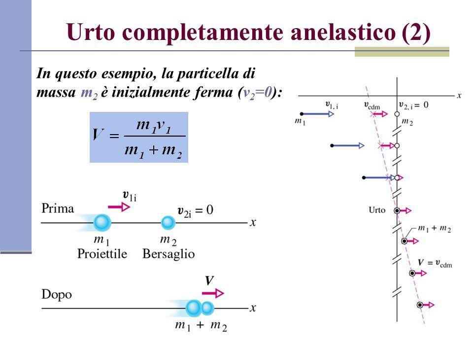 Urto completamente anelastico (2)