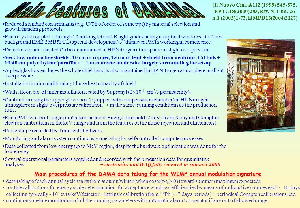 EPJ C18(2000)283, Riv. N. Cim. 26 n.1 (2003)1-73, IJMPD13(2004)2127)