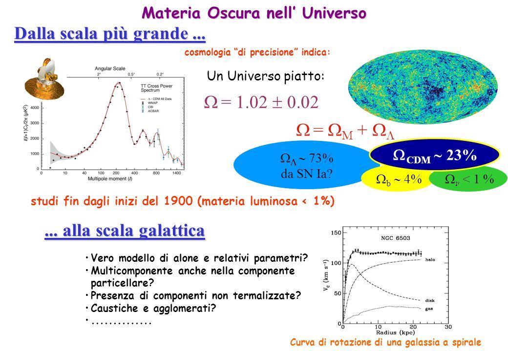 Dalla scala più grande ...  = 1.02  0.02  = M + 
