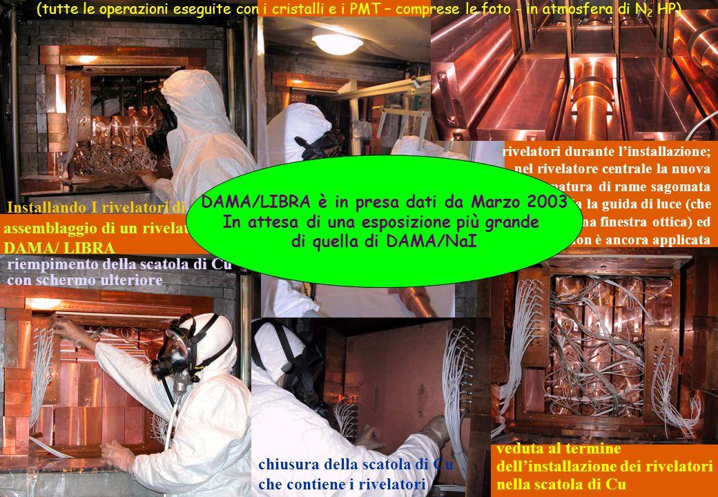 DAMA/LIBRA è in presa dati da Marzo 2003