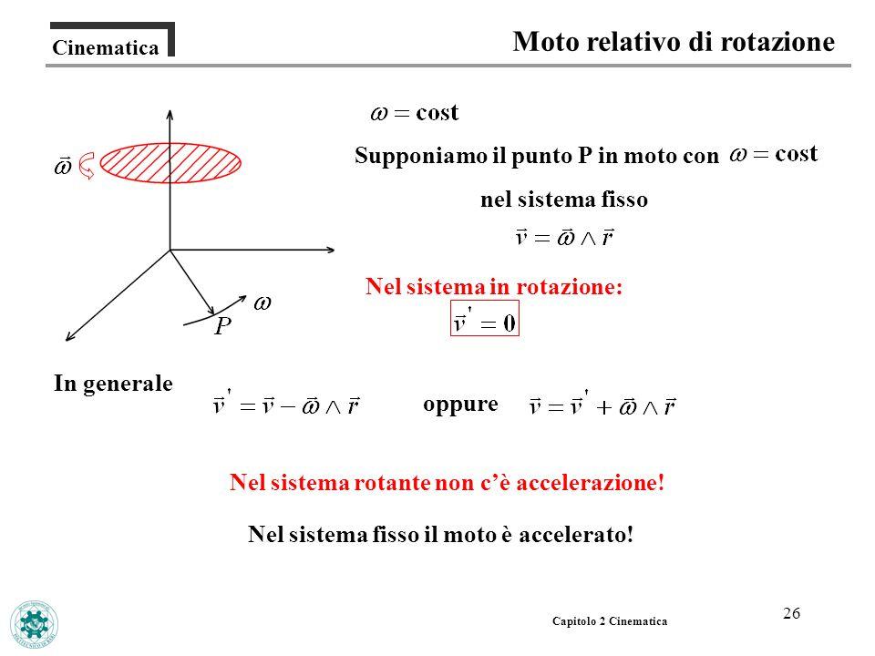 Moto relativo di rotazione