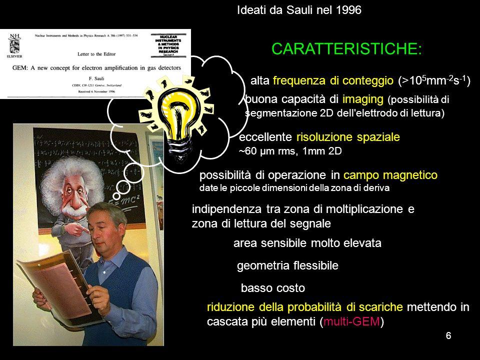 CARATTERISTICHE: Ideati da Sauli nel 1996