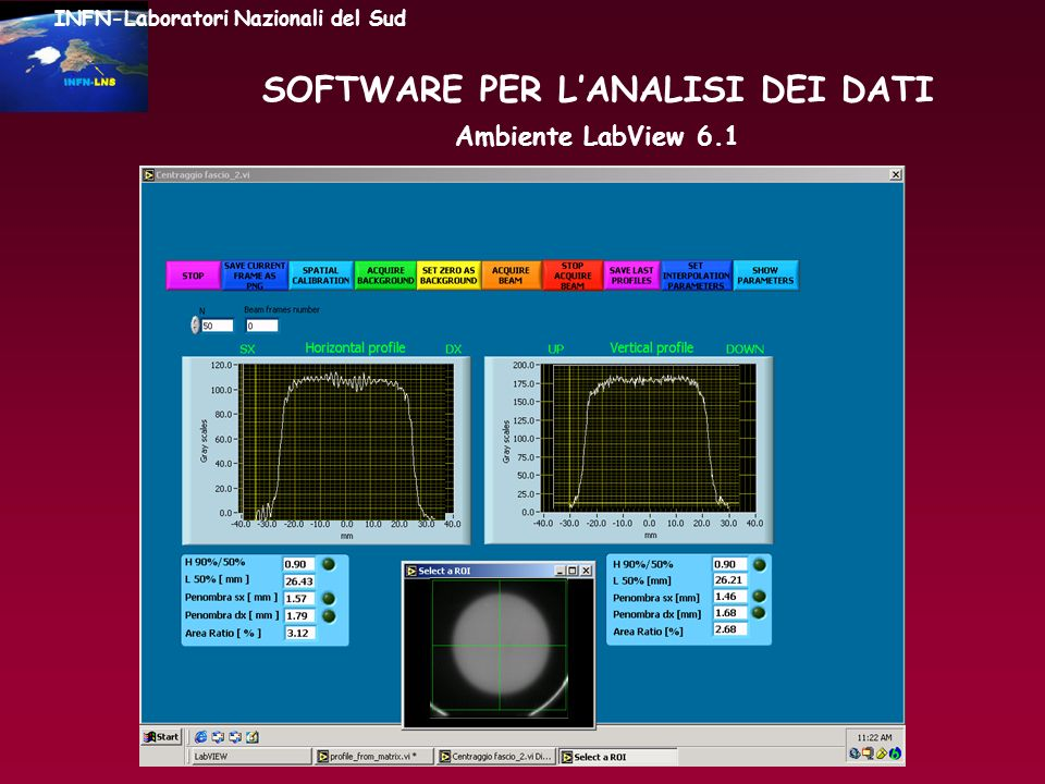SOFTWARE PER L'ANALISI DEI DATI