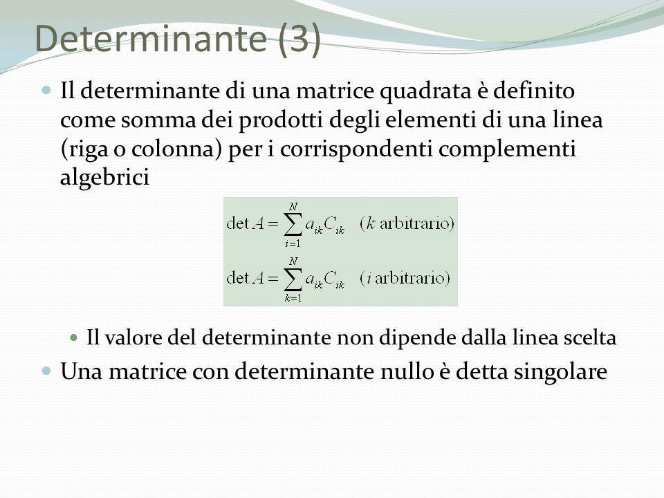 Determinante (3)