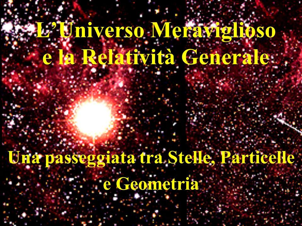 L'Universo Meraviglioso e la Relatività Generale