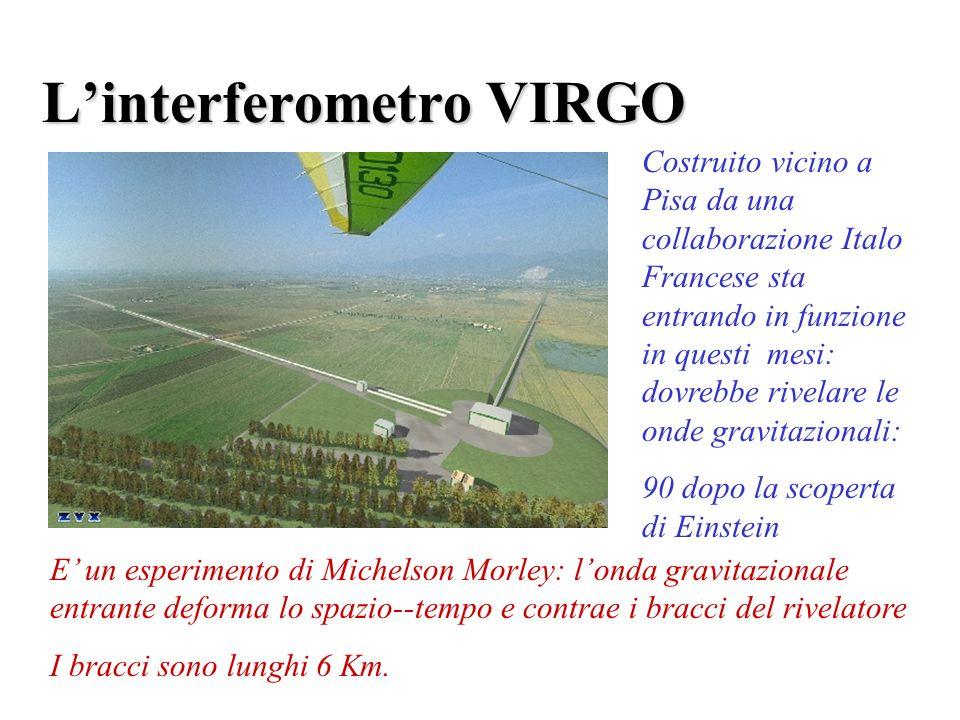L'interferometro VIRGO